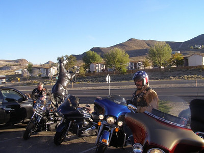 Getting ready to depart Tonopah. (Photo by Jeff)