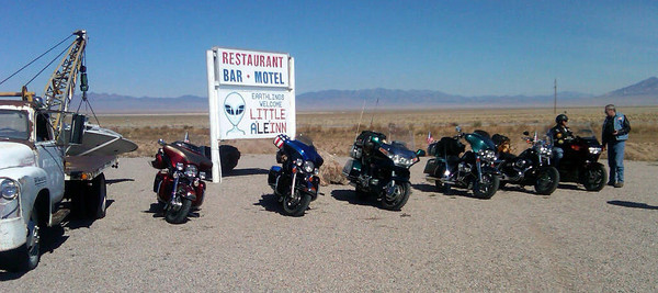 We stopped in Rachel, NV