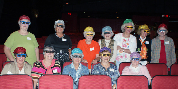 Branson Hat Girls with 3D glasses