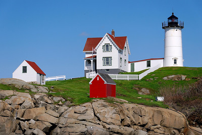 Nubble Lighthouse - York Beach, Maine