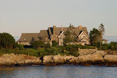 Bush family summer home on the Atlantic Ocean near Kennebunkport, Maine