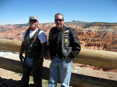 Bob and I at Cedar Breaks National Monument
