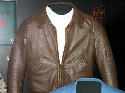 "Fonzie's leather jacket from ""Happy Days"""