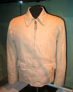 Flight jacket of Ens. George Gay, USNR -- sole survivor of Torpedo Squadron Eight (VT-8)battle of Midway.