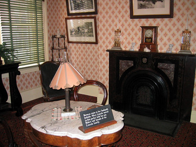 House where President Lincoln died.