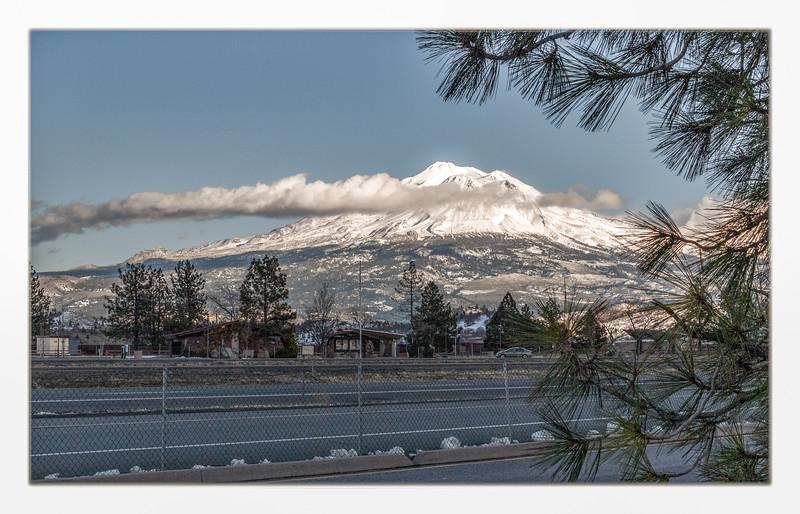Mt. Shasta rivals Mt. Baker for beauty!