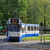 Tram 840 in Amsterdam on route 24