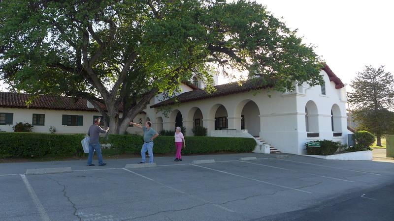 Ty, Chris, and Mom at the Hacienda, April 2016.