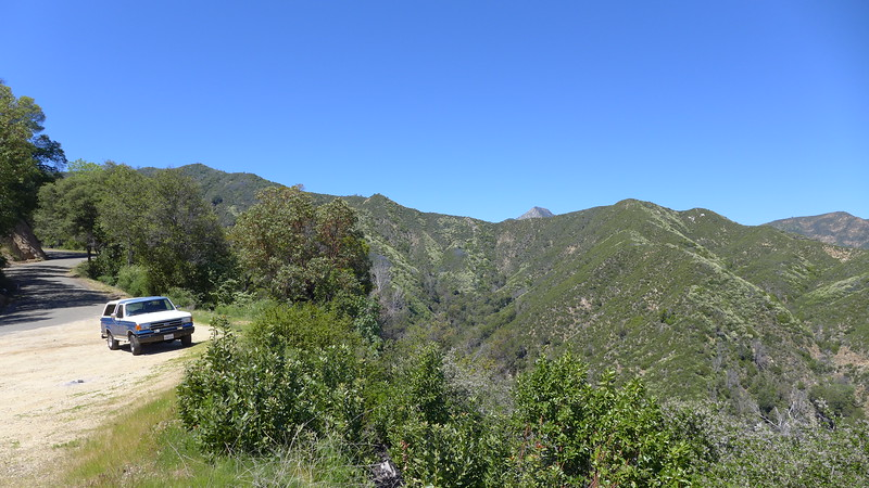 Heading towards Big Sur on the Nacimiento Fergusson Road, April 2016.
