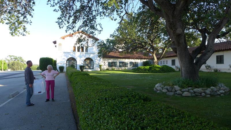 Hearst Hacienda, Jolon, CA, April 2016.