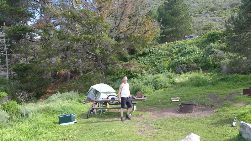 Kirk Creek Campground, April 2016.