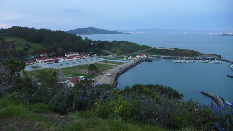 Horseshoe Bay, Fort Baker, at the North end of the Golden Gate Bridge, April 2016.