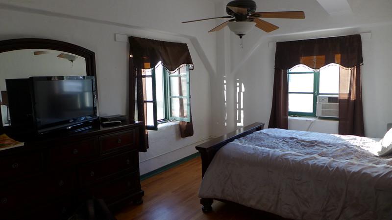 Bedroom at the Hacienda, April 2016.