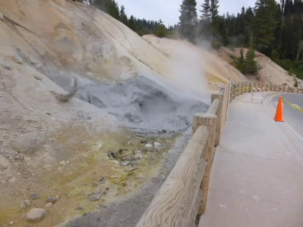 Boiling Mud Pots at Lassen, 2015