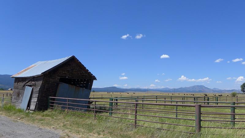 Highway 89 north of Sierraville, 2015.