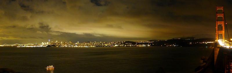 Vista Point, North End of Golden Gate.