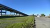 Bridge over Petaluma River from Port Sonoma, 2015.