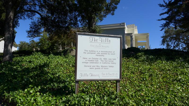 The Haraszthy Villa at Buena Vista Winery, 2015.