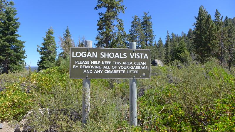 Logan Shoals Vista, Lake Tahoe, 2015.