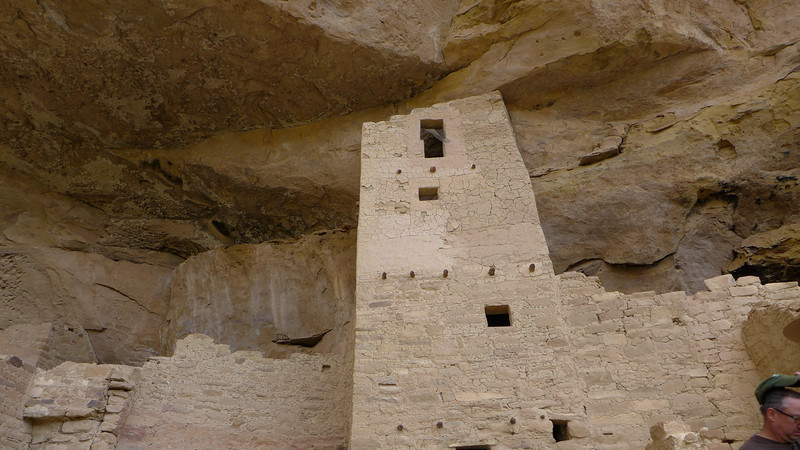 Square Tower, Cliff Palace , Mesa Verde National Park, 2013.