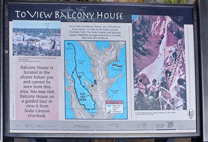 At Balcony House