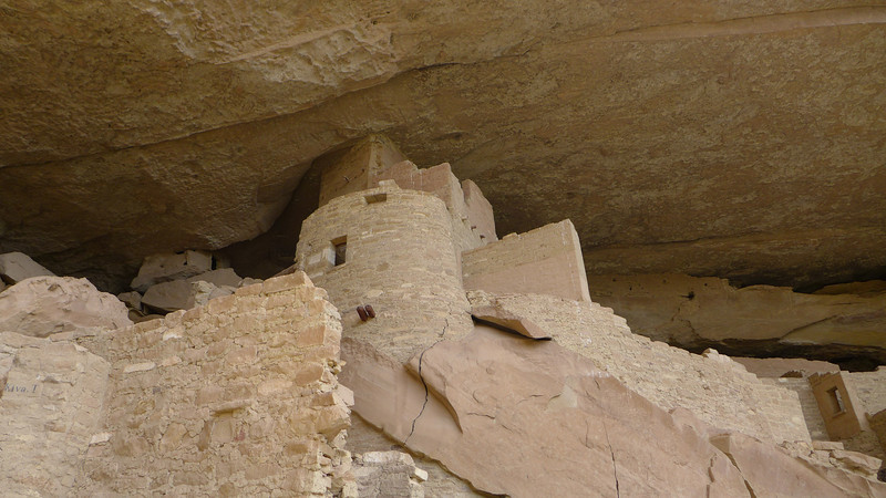 Round Tower, Cliff Palace , Mesa Verde National Park, 2013.