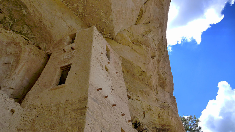 Square tower at Cliff Palace. , Mesa Verde National Park, 2013.