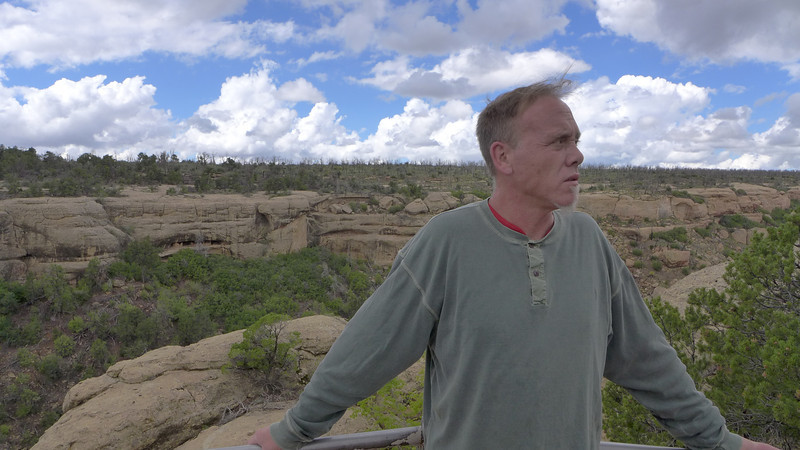 Ty at Cliff Palace , Mesa Verde National Park, 2013.