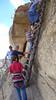 Ladder leaving Balcony House