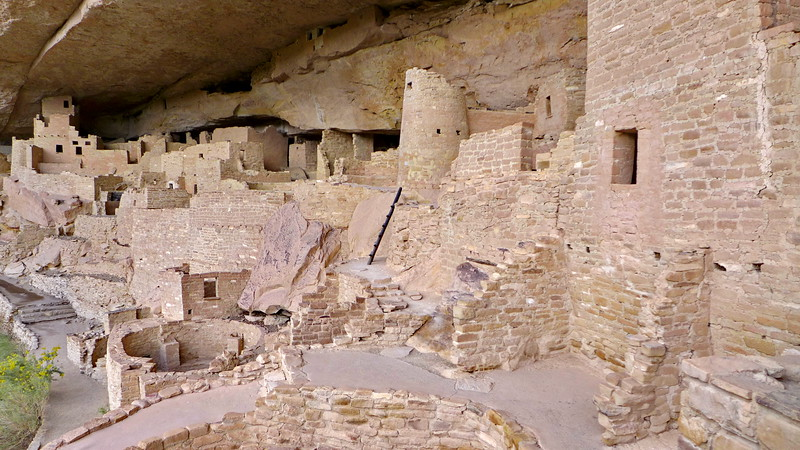 Cliff Palace , Mesa Verde National Park, 2013.