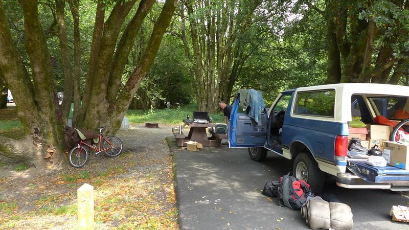 Quosatana Campground near Gold Beach, Oregon, 2015.