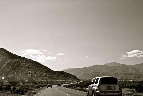 Palm Springs road trip, 7-14-09