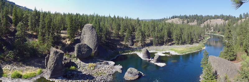 Bowl and Pitcher area at Riverside State Park, Spokane, 2015.