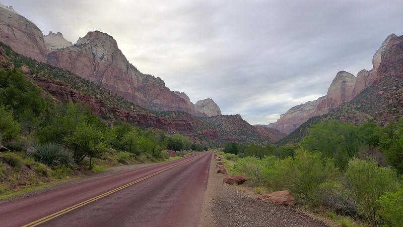 Highway 9, Zion National Park, Utah , 2013.