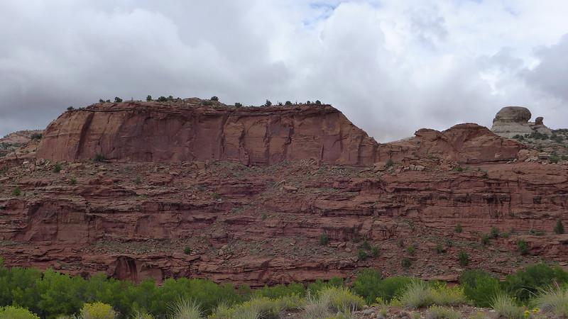 Near Calf Creek on Utah SR 12, 2013.