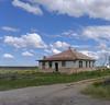 Abandoned house, Utah SR 191, 2013.