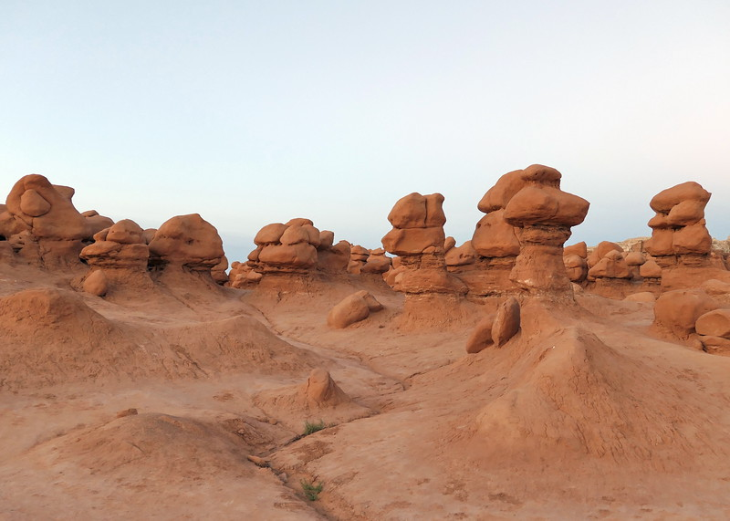 The Goblins at Goblin Valley State Park, 2020.