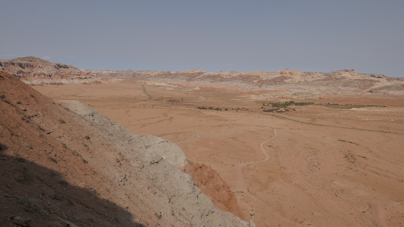 Hiking up the side of Wild Horse Butte, Utah, 2020.