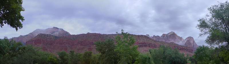 Zion From Highway 9 Near Visitor's Center , 2013.