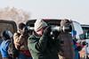 Al, getting that last shot.  Photo by Ernie Martin