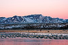 Early Morning Flocks with Mountains by R.J Osbon