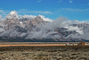 Old Barn, Homestead, Grand Teton National Park, Wyoming, USA, North America