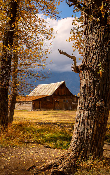 Grandpa's Barn by Kit Wang