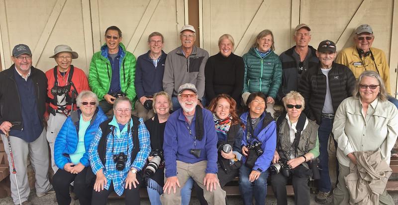 Front Row:  Kit, Juanell, Maddy, Robert, Leah, Lorraine J., Lorraine H., Shelly.<br /> Back Row: Bill, Chien, Harry, Rod, Howard, Stephanie A., Stephanie S., Jay, Bob, Mike