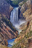 Lower Falls, Grand Canyon of Yellowstone River HDR by Bruce Straits
