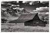 Mormon barn by Bruce Straits