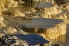 Minerva Terrace, Mammoth Hot Springs by Bruce Straits