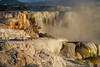 Cleopatra Terrace, Mammoth Hot Springs by Bruce Straits