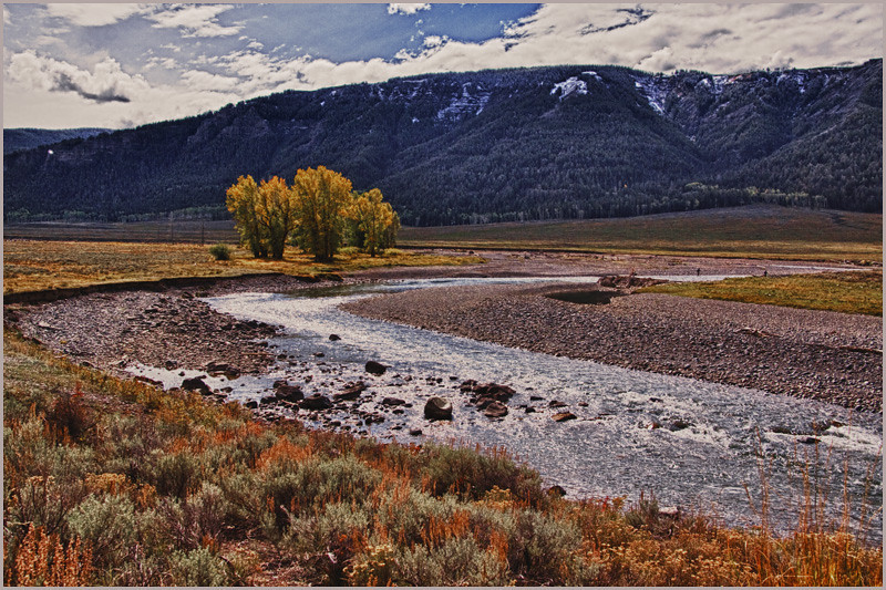 LaMar Valley HDR by Mary Lou Frost