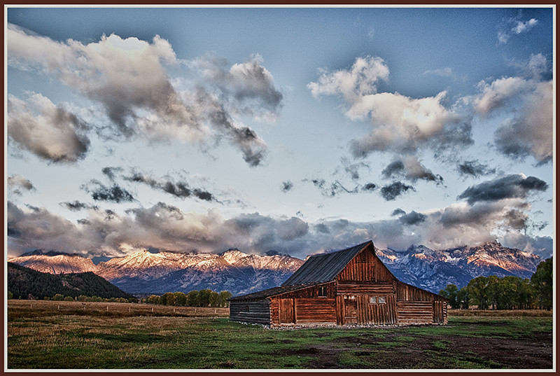 Teton Ranch HDR by Mary Lou Frost